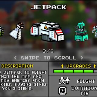 The Jetpack in the older Armory (Pre-10.2.0)
