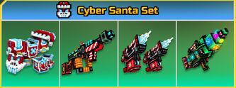 Cyber Santa Set