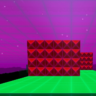 A red-spike wall, which is 6x4.