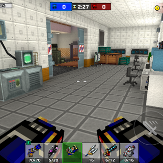 The R&D lab.