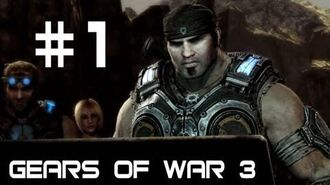 Gears of War 3 Co-op Campaign Walkthrough w Nova, Sp00n, and SSoHPKC Part 1