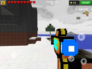 Alien Gun in Winter Island