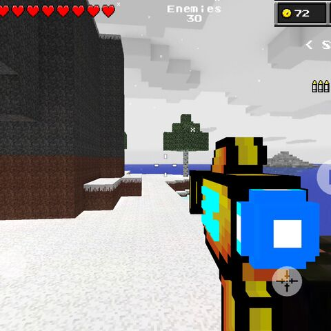 The Alien Gun in use.
