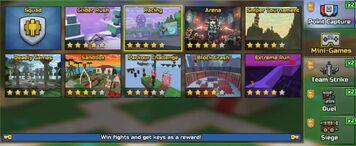 Minigames menu new