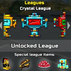 Crystal league.