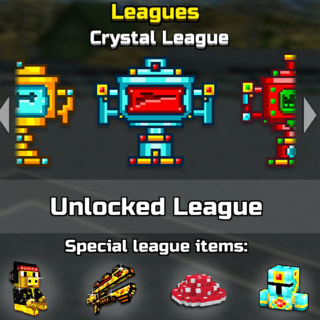 Crystal league.
