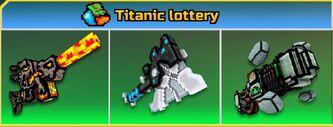 Titanic lottery
