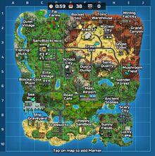 Full Island Map