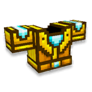 Medium Golden Armor.