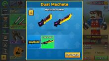 Mythical Power - Dual Machete