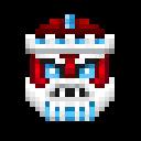 Cyber Santa Icon