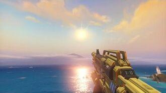 Overwatch Gold Soldier 76 Showcase (Gold 4)
