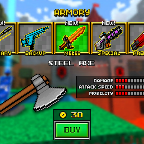 The old Steel axe.