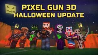 Pixel Gun 3D Halloween update trailer