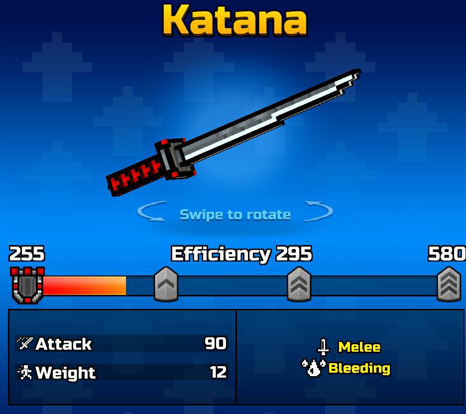 Katana Pixel Gun Wiki Fandom Powered By Wikia