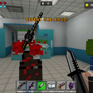 The Chainsaw Doctor attacking the player.