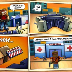 The Story Comic for Hospital.