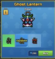 Clown GhostLantern