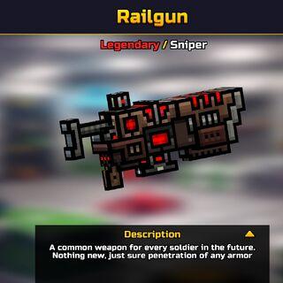 Railgun in the Gallery.