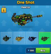 Reactor One Shot