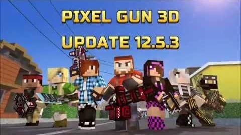 Pixel Gun 3D Update 12.5