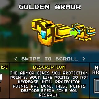 Light Golden Armor.