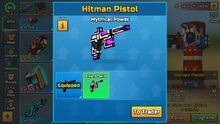 Mythical Power - Hitman Pistol
