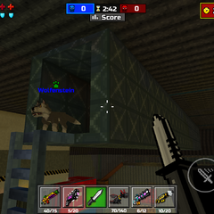 The ventilation shaft that leads to the roof.