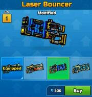 Modified LaserBouncer