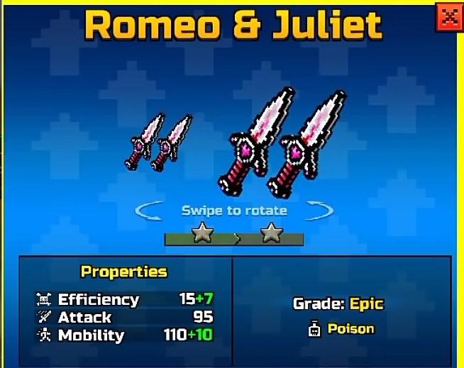 Romeo Juliet Up1 Pixel Gun Wiki Fandom Powered By Wikia