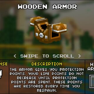 Light Wooden Armor.