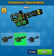 Relic Champion Peacemaker