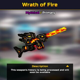 The Wrath of Fire in the <a href=