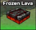 Frozen Lava