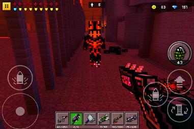 Pixelgun3d beastiary demon runner by arbiter7734-dahs7yy