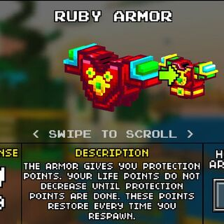 Light Ruby Armor.