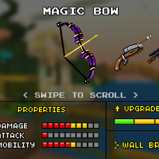 The old design of the Magic Bow.