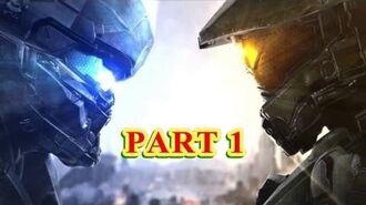 Halo 5 Guardians 4 Player Co-op Campaign Walkthrough Part 1 1080P 60FPS