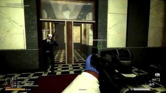 Payday The heist - 4 player co-op -Episode 01 - First world bank - All that money flow!