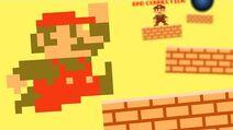 Mario's Parkour Calamity Mario Animation