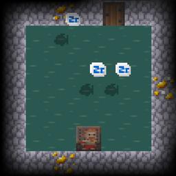 Caves stage Flooded Vault