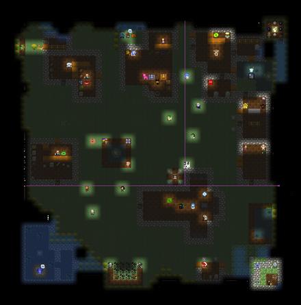 Dolya Town map full & NPCs SPS-PD