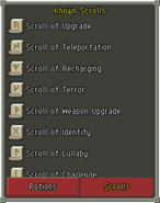 Known Scrolls
