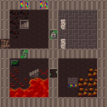 Demon halls level example