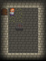 Prison stage Pedestal Vault