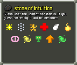 Intuition potions