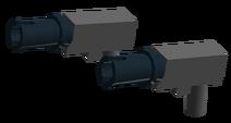 Blue Eclipse Gun