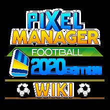 Pixel-manager-football-logo