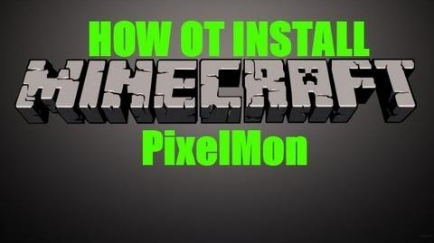"Minecraft - How to install ""PixelMon"" (1.3.2 )"