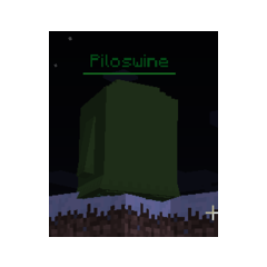 Зеленый босс Piloswine
